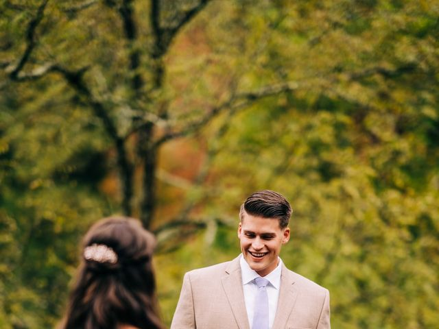 Stirling and Abbey's Wedding in Hot Springs, North Carolina 22