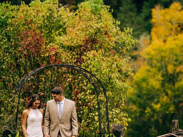 Stirling and Abbey's Wedding in Hot Springs, North Carolina 1