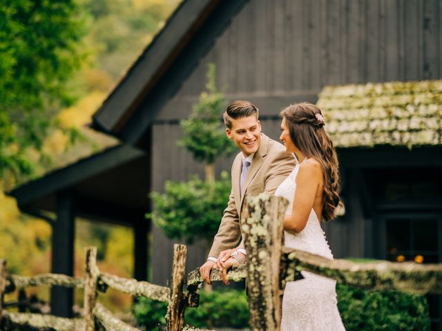 Stirling and Abbey's Wedding in Hot Springs, North Carolina 2