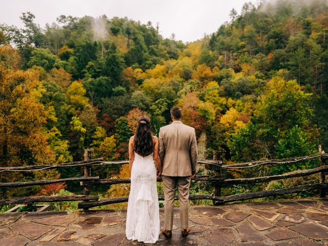 Stirling and Abbey's Wedding in Hot Springs, North Carolina 23