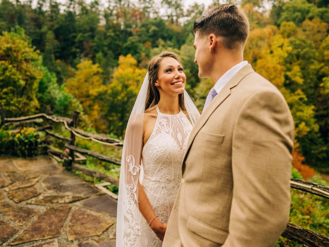 Stirling and Abbey's Wedding in Hot Springs, North Carolina 24