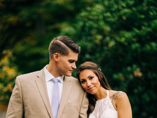 Stirling and Abbey's Wedding in Hot Springs, North Carolina 27