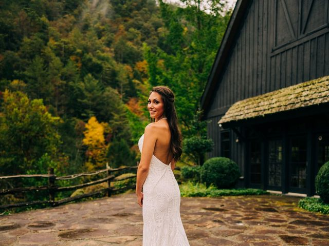 Stirling and Abbey's Wedding in Hot Springs, North Carolina 28