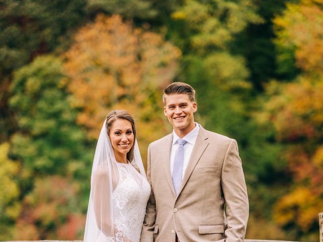 Stirling and Abbey's Wedding in Hot Springs, North Carolina 29