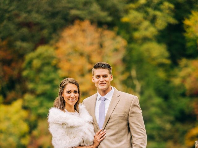 Stirling and Abbey's Wedding in Hot Springs, North Carolina 32
