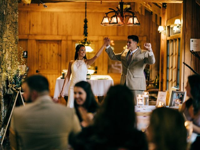 Stirling and Abbey's Wedding in Hot Springs, North Carolina 33
