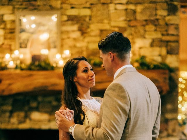 Stirling and Abbey's Wedding in Hot Springs, North Carolina 34