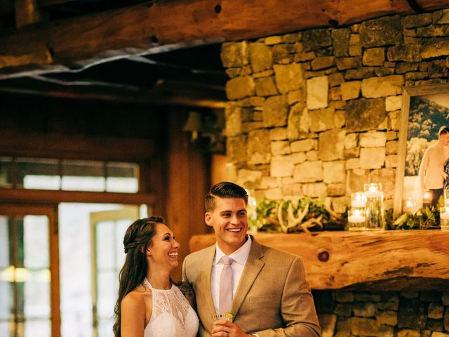 Stirling and Abbey's Wedding in Hot Springs, North Carolina 40