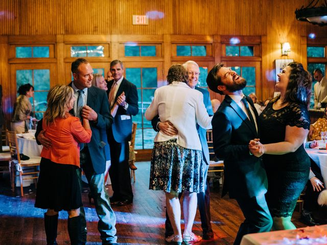 Stirling and Abbey's Wedding in Hot Springs, North Carolina 42