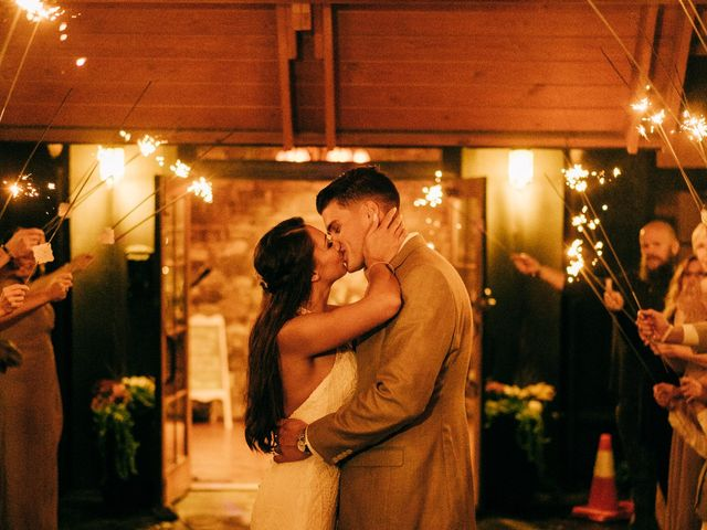 Stirling and Abbey's Wedding in Hot Springs, North Carolina 49