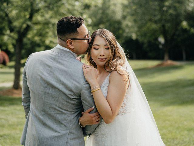 The wedding of Eddie and Cortnie