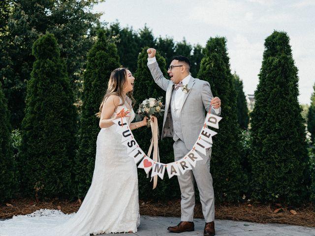 Cortnie and Eddie's Wedding in Rock Hill, South Carolina 13