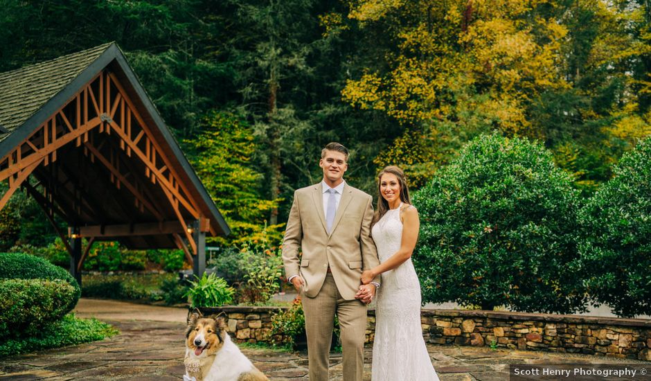Stirling and Abbey's Wedding in Hot Springs, North Carolina
