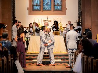 The wedding of Arreon and Thomas 1