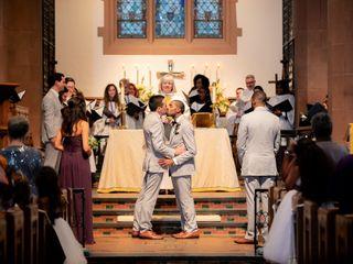 The wedding of Arreon and Thomas 1