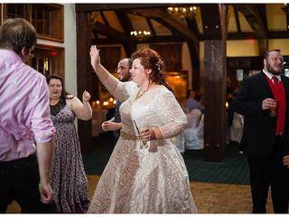 The wedding of Christine and Rob 1