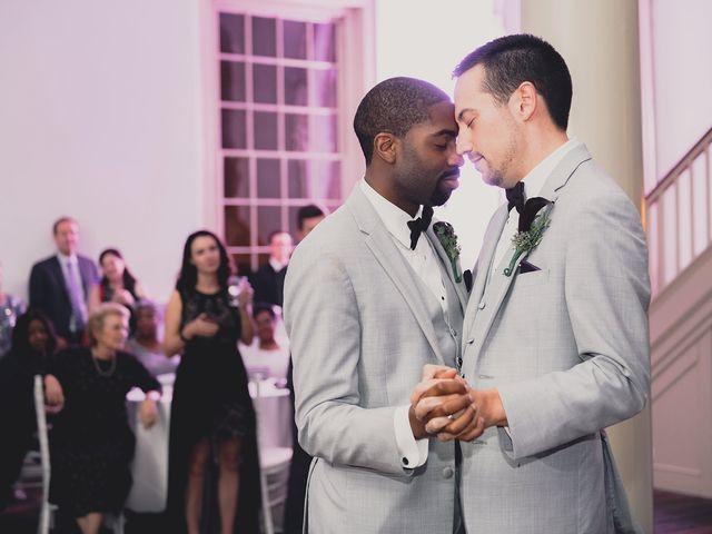 Thomas and Arreon's Wedding in Philadelphia, Pennsylvania 4