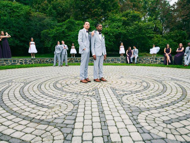 Thomas and Arreon's Wedding in Philadelphia, Pennsylvania 9