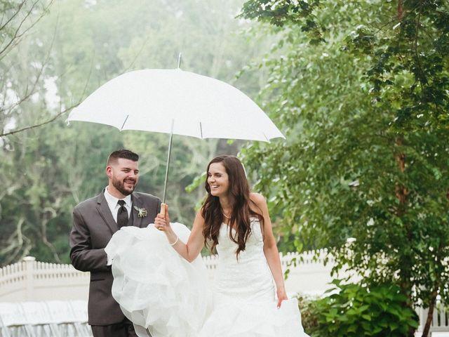Bill and Emily's Wedding in West Bridgewater, Massachusetts 28