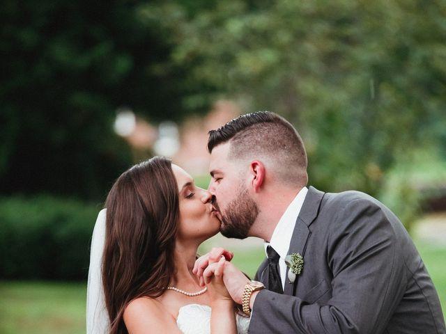 Bill and Emily's Wedding in West Bridgewater, Massachusetts 33