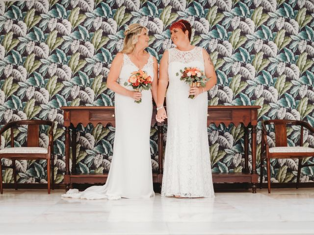 The wedding of Claire and Niki