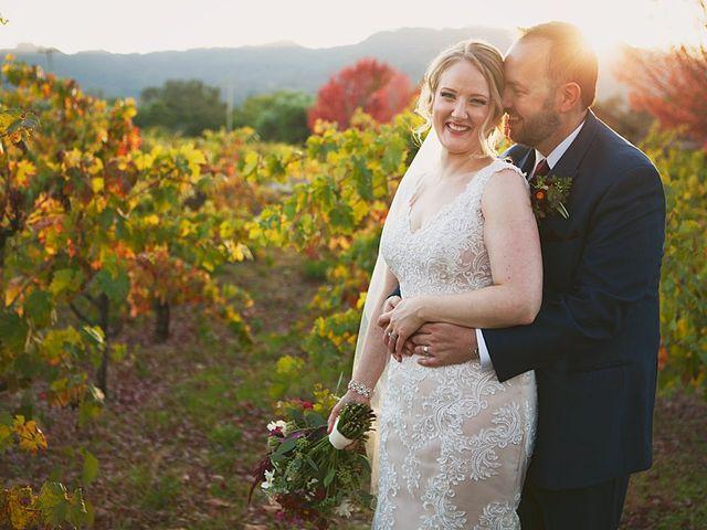 Ian and Jennifer's Wedding in Sonoma, California 5