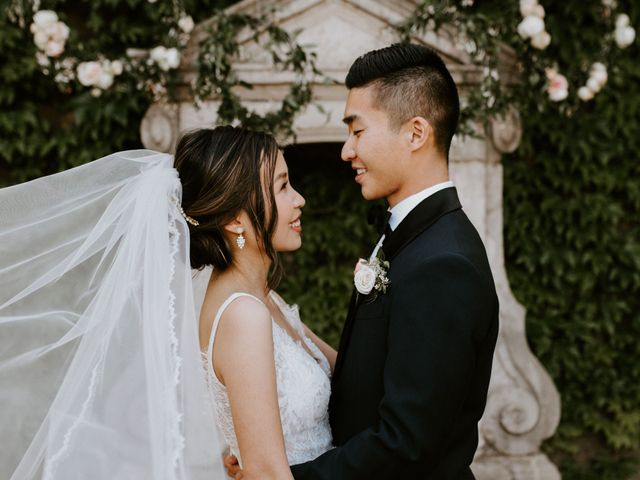 The wedding of Tiffany and Kevin