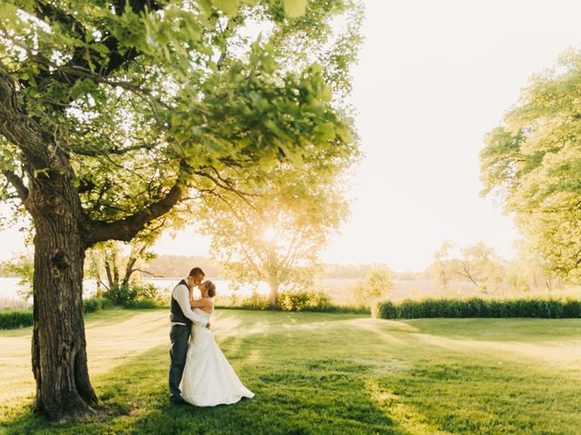 The wedding of Tiffany and Nick