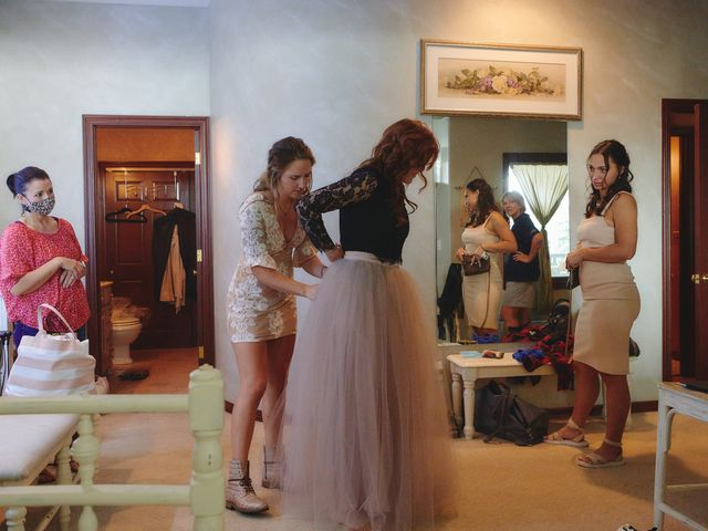 Josh and Adria's Wedding in Franktown, Colorado 5