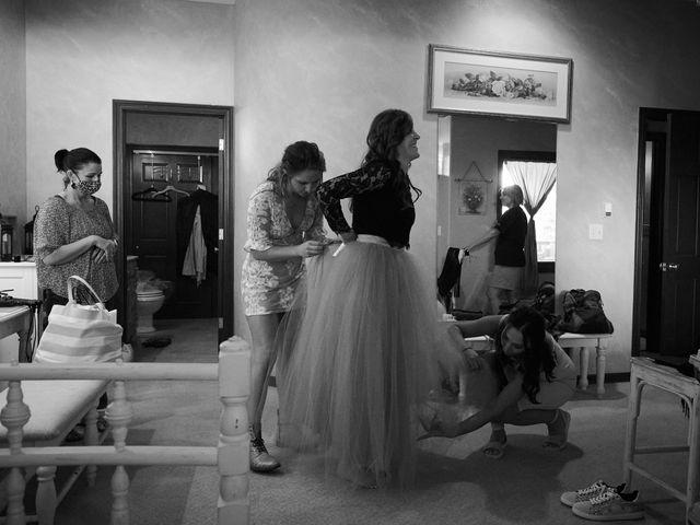 Josh and Adria's Wedding in Franktown, Colorado 6