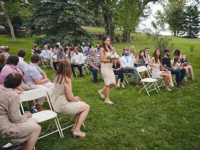 Josh and Adria's Wedding in Franktown, Colorado 9