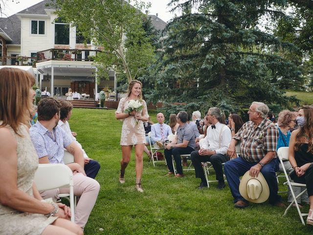 Josh and Adria's Wedding in Franktown, Colorado 10