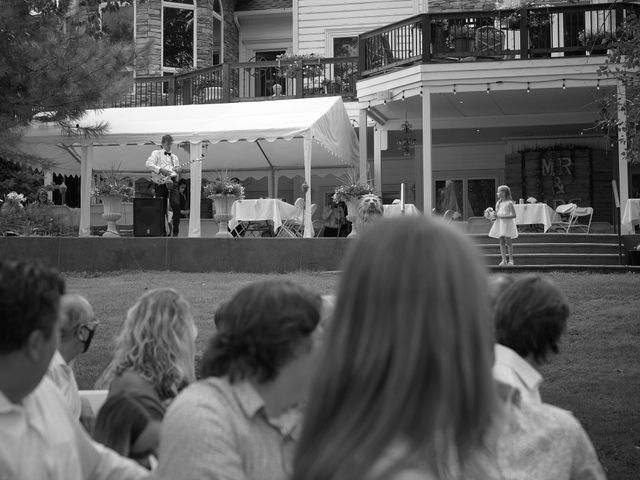 Josh and Adria's Wedding in Franktown, Colorado 11