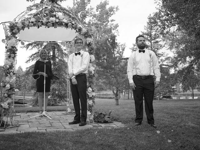 Josh and Adria's Wedding in Franktown, Colorado 12