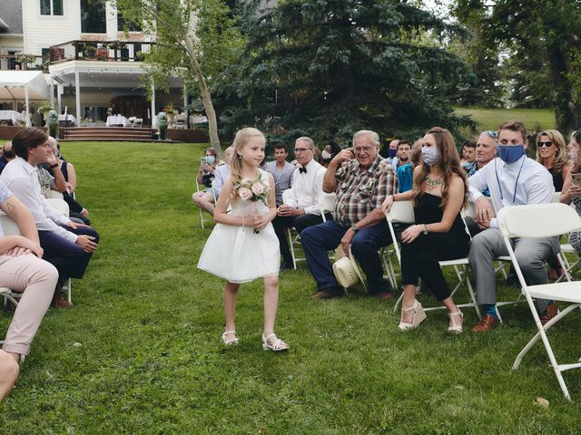 Josh and Adria's Wedding in Franktown, Colorado 13