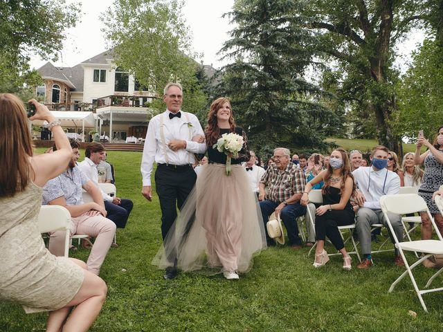 Josh and Adria's Wedding in Franktown, Colorado 15