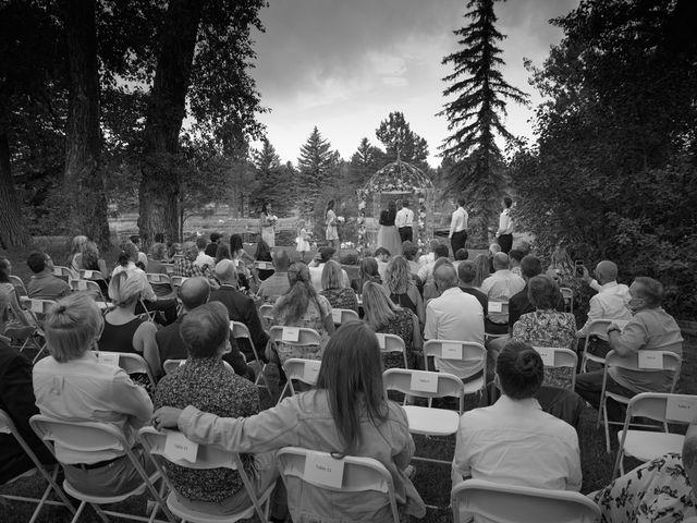Josh and Adria's Wedding in Franktown, Colorado 16