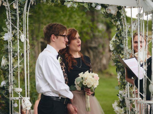 Josh and Adria's Wedding in Franktown, Colorado 19