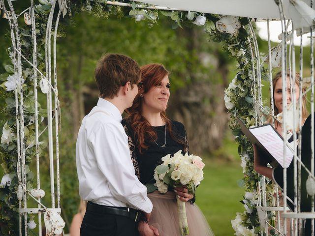 Josh and Adria's Wedding in Franktown, Colorado 20