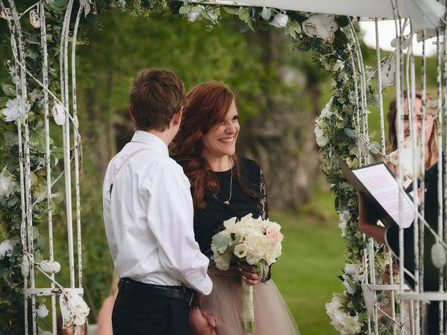 Josh and Adria's Wedding in Franktown, Colorado 21