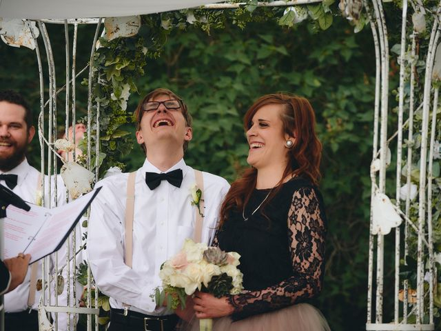 Josh and Adria's Wedding in Franktown, Colorado 22