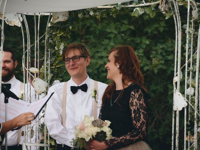 Josh and Adria's Wedding in Franktown, Colorado 23