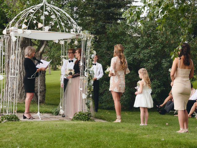 Josh and Adria's Wedding in Franktown, Colorado 24