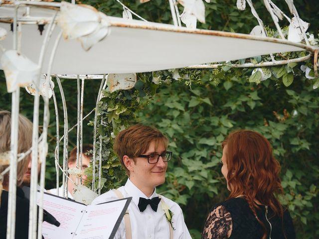 Josh and Adria's Wedding in Franktown, Colorado 27