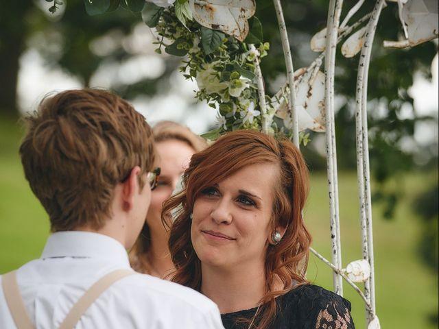 Josh and Adria's Wedding in Franktown, Colorado 28