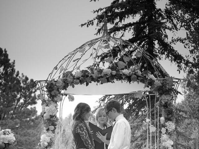 Josh and Adria's Wedding in Franktown, Colorado 31