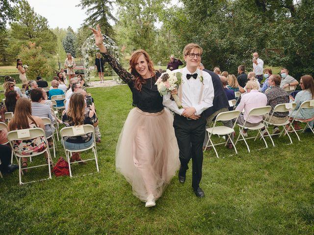 Josh and Adria's Wedding in Franktown, Colorado 35