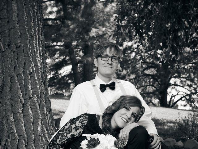 Josh and Adria's Wedding in Franktown, Colorado 38