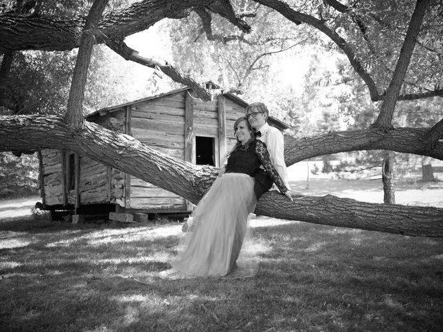 Josh and Adria's Wedding in Franktown, Colorado 40