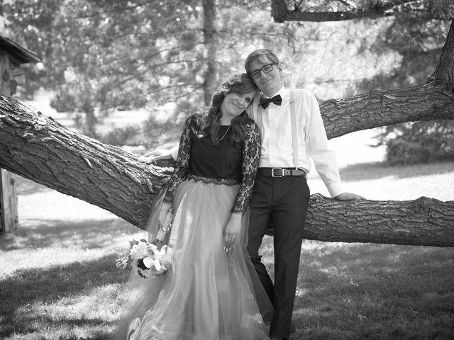 Josh and Adria's Wedding in Franktown, Colorado 41